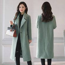 本内赛 新款韩版毛呢外套
