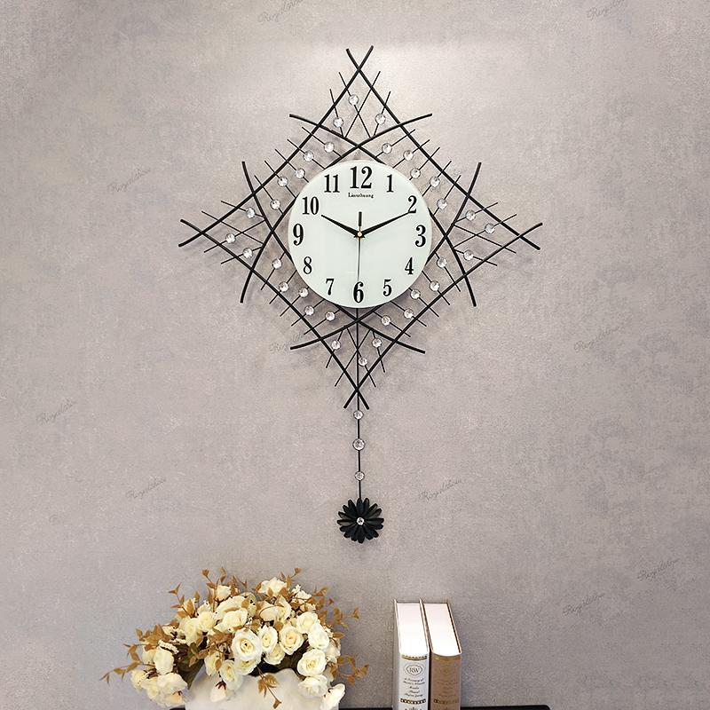 【恋妆】创意现代简约客厅静音挂钟 26英寸