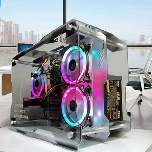 水冷游戏高配组装机i5 9400/9500F电脑主机十代10400吃鸡台式全套