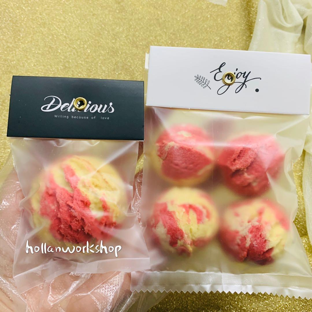 彩虹冰淇淋曲奇星空饼干网红小零食高颜值女朋友礼物孕妇宝宝辅食