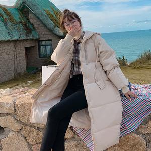 2021新款冬裝長款棉衣女裝韓版過膝冬季棉服外套冬衣大碼羽絨棉服