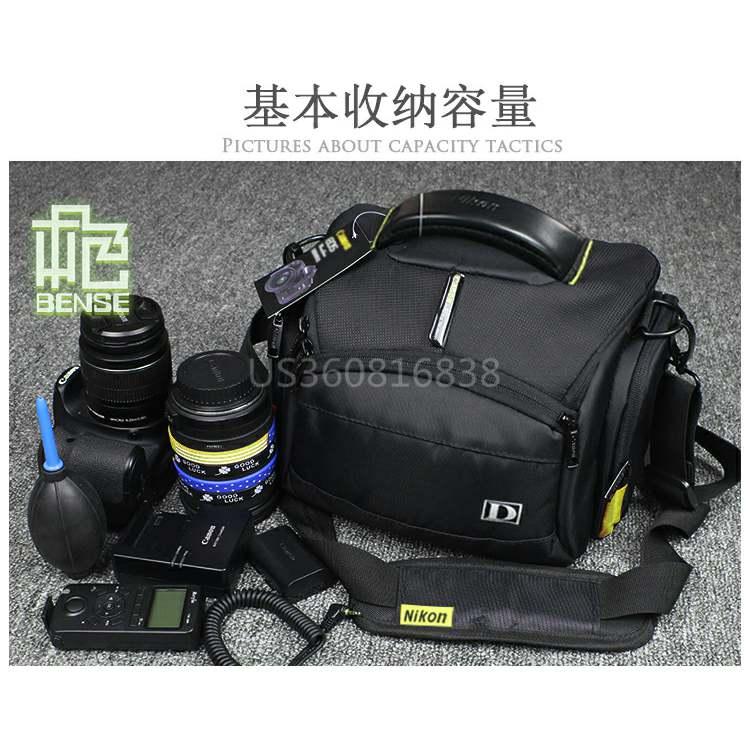 Applicable to 1 SLR camera bag d7200 d3200 d750 d800 thickened d3400 single shoulder D5500 Backpack