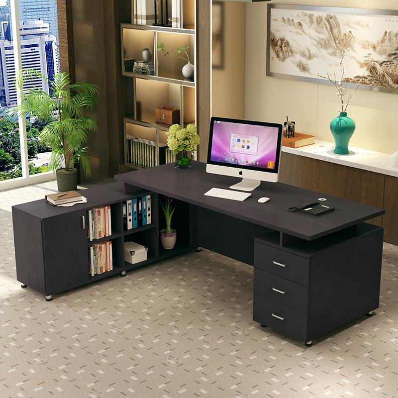 商业办公家具老板办公桌大班台单人总裁简约现代主管办公桌经理桌