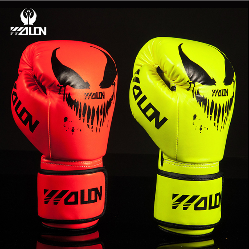 Wulong adult boxing gloves Sanda boxing training Muay Thai boxing equipment training fighting fitness boxing sleeve breathable and comfortable