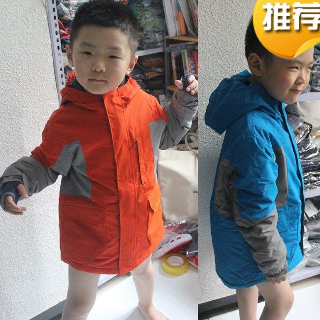Годовой классическая мальчиков в больших детей плюс бархат стеганый длина куртка ветролом дождь осень и зима пальто super real использование
