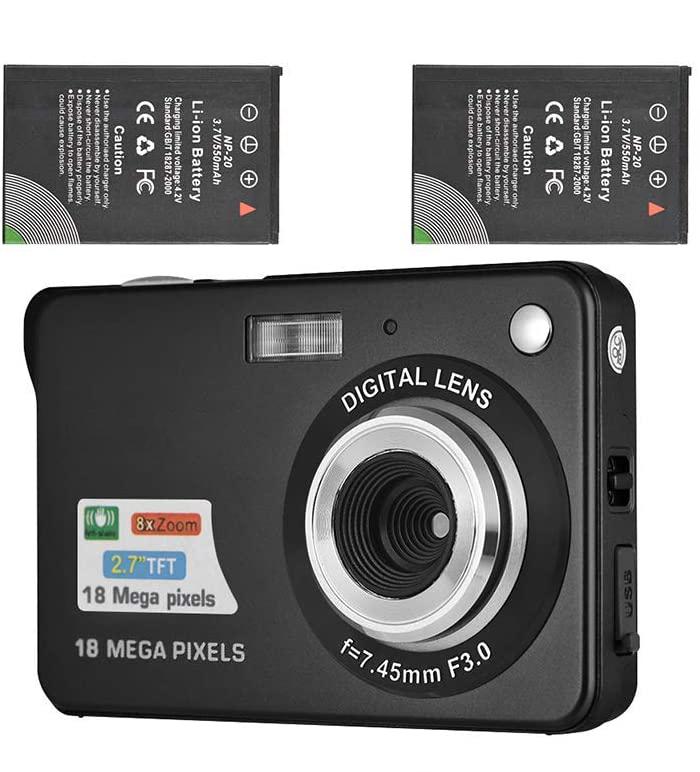 学生照相机网红相机迷你高清数码相机入门级便携式CCD卡机相机