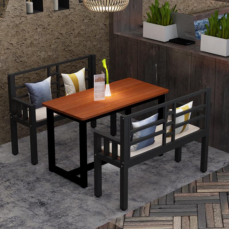 Закуски Быстрое питание Столы и стулья Кофейня Индивидуальность Столы и стулья Комбинация винтаж Стол стол два стула четыре стула простой обеденный стол