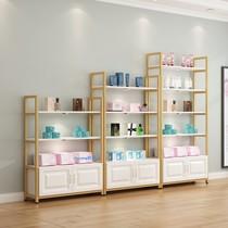 欧式展示柜化妆品展示架隔断货柜货架要店展柜美容院货架简约展示