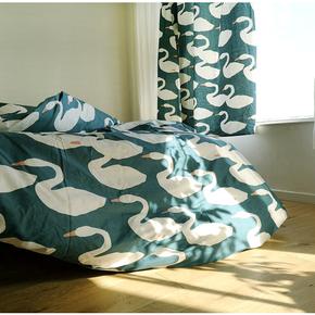 特价清仓 纯棉床单床笠枕套被套 1.2m1.5米1.8m2单人双人被罩