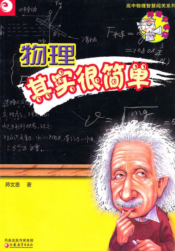 保证正版 物理其实很简单 师文惠 江苏教育出版社