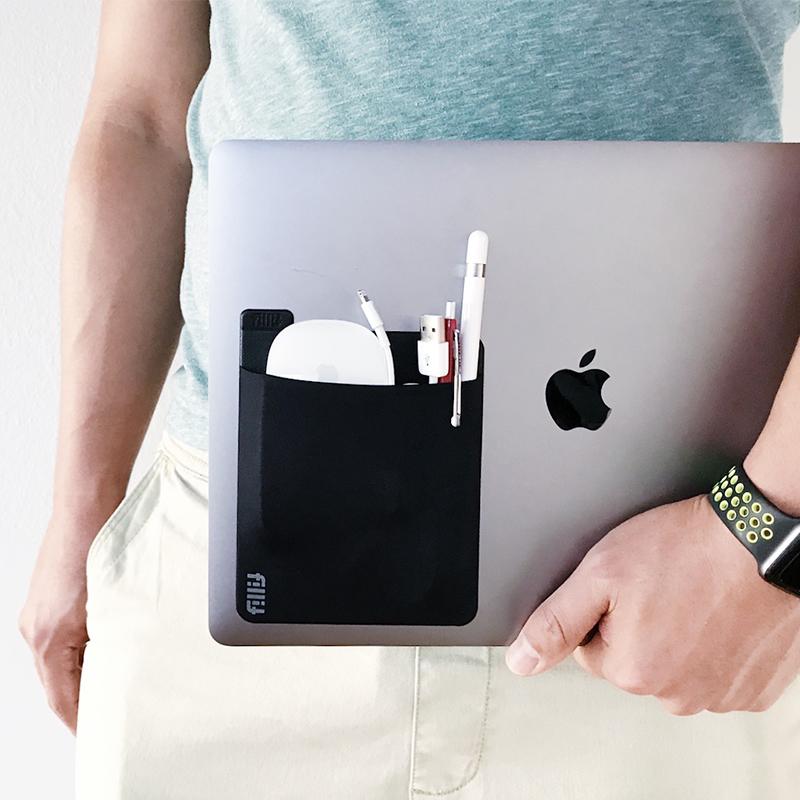FILLIT POCKET 便携笔记本粘贴式 数码收纳配件袋 迷你杂物包