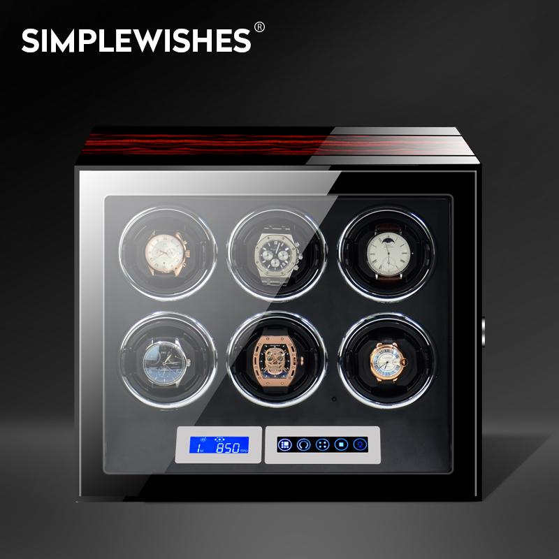 德国进口摇表器手表上链盒自动转表器机械手表盒摇摆器晃表器