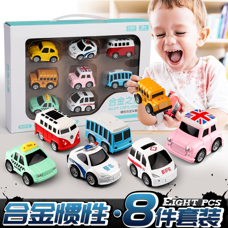 children's toy car inertial car three or four weeks baby child 3-4-56