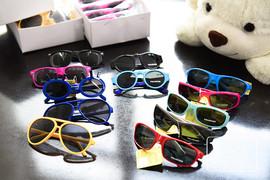 dEdP153宝宝的礼物!多色随机发货!儿童装扮显酷潮眼镜太阳镜图片