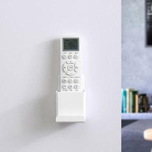 挂壁免打孔手机盒遥控器收纳盒墙壁挂墙上遥控器盒空调遥控板挂架