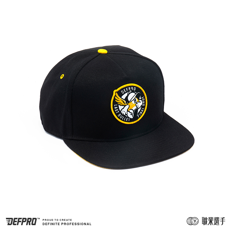 DEFPRO baseball cap 卡通台球复古潮流棒球帽平沿帽 职业选手