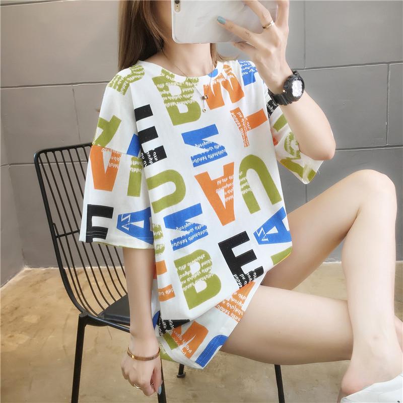2020新款ins夏季韩版宽松短袖t恤