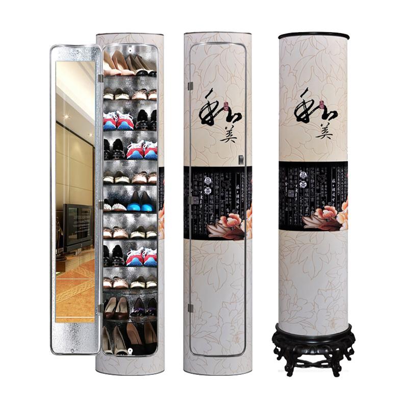 福临万家创意360度旋转智能鞋柜性价比高吗