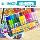 斯尼尔马克笔大头记号笔可加墨水黑色彩色油性大号容量双头12/18/24/30色学生美术幼儿园儿童绘画水彩勾线笔 mini 0