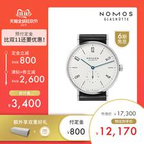 NOMOS165德国手动机械腕表轻奢包豪斯男女表双11预售提前加购