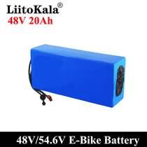 新款燃料LiitoKala48V1215202530Ah18650电动车电池组T插电池