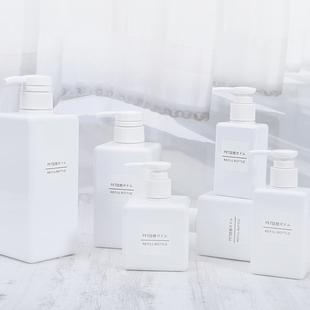 酒店浴室分装乳液瓶替换大容量空瓶化妆品洗手液洗发沐浴露按压瓶