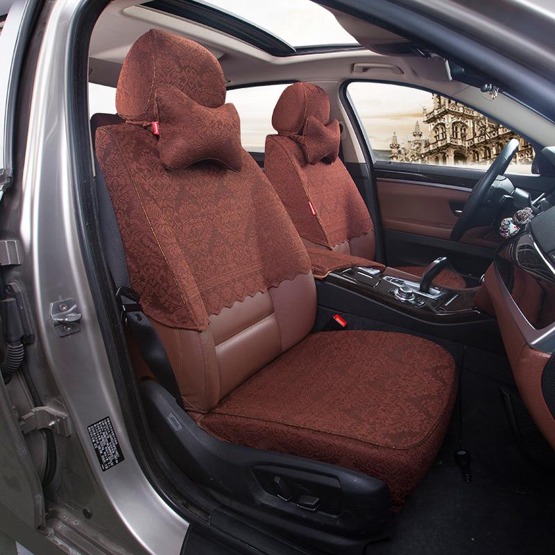 蕾丝汽车座套适用于奔驰GLA200 V260 S320L R320 E200L半截坐椅套