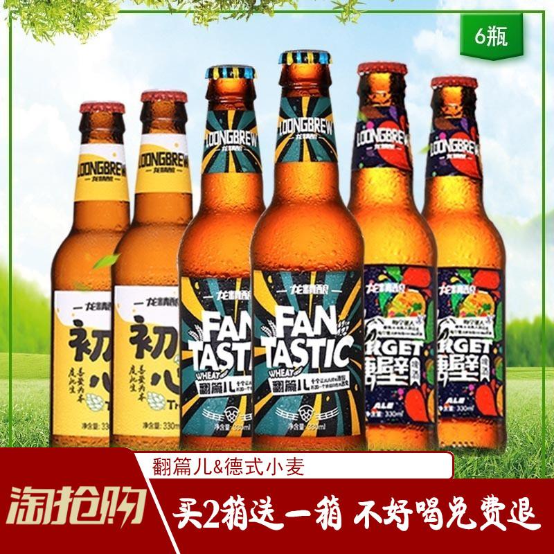 6瓶 精酿啤酒精选原料精酿啤酒