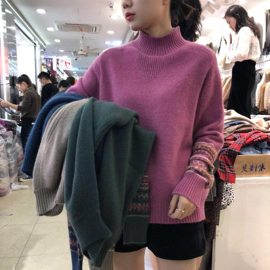 【双十一保价】2019秋冬款精品浣熊绒气质毛衣 2F0941-SYC7603