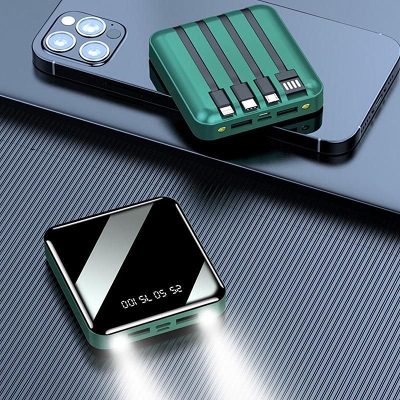 20000毫安大容量充电宝超薄小巧便携快充闪充移动电源石墨烯快冲适用华为oppo小米苹果vivo手机专用正品X通用