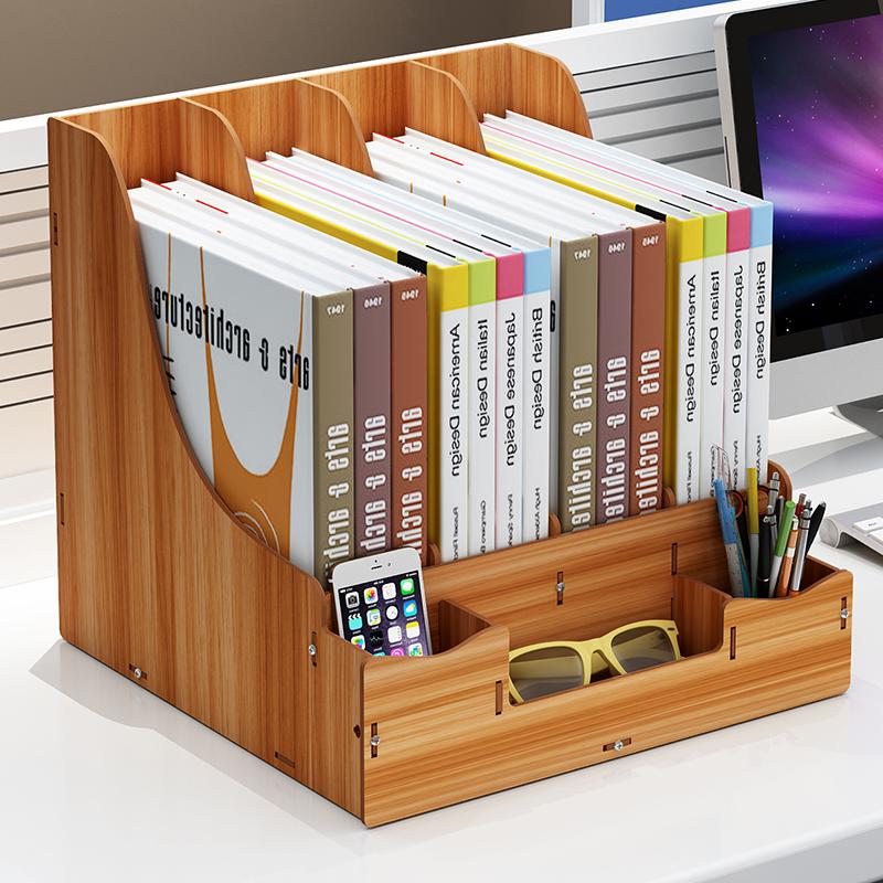 23.88元包邮日系书立可爱伸缩书架学生寝室书夹简易书本收纳办公桌折叠铁架子