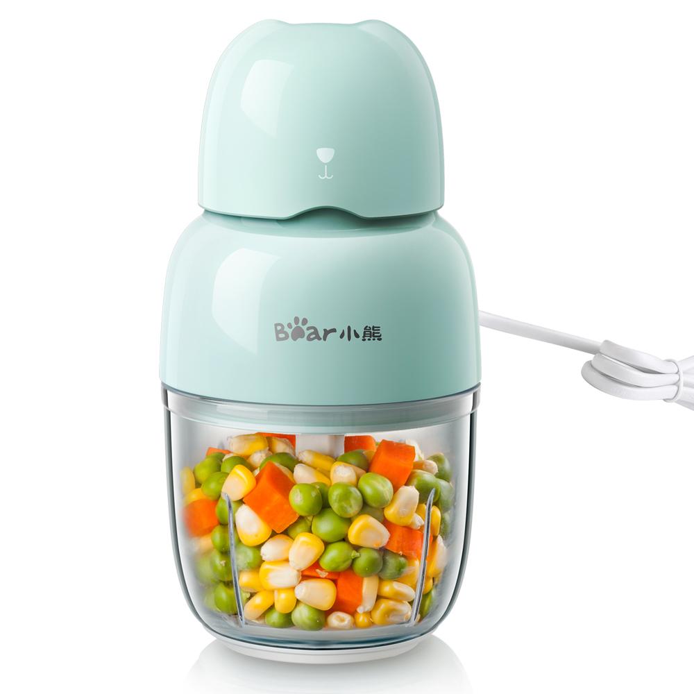 小熊辅食机婴儿宝宝料理棒多功能搅拌机家用小型迷你打果泥绞肉机
