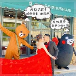 网红熊布朗熊卡通人偶抖音同款可妮兔玩偶布偶衣服人穿行走服装