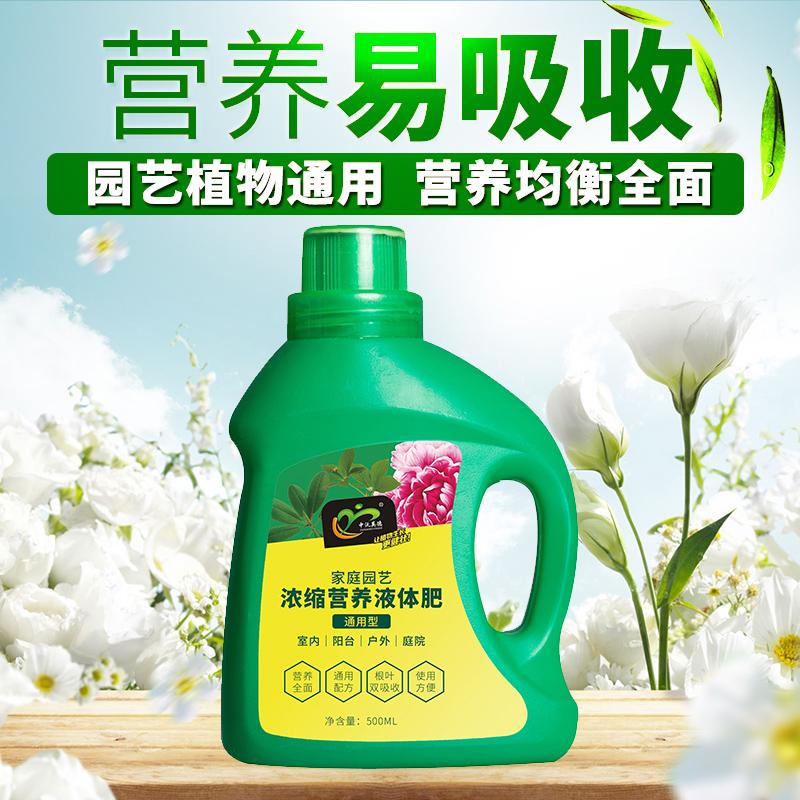 室内盆栽植物营养液通用型养花肥料水培蔬菜花绿萝多肉家用液体肥