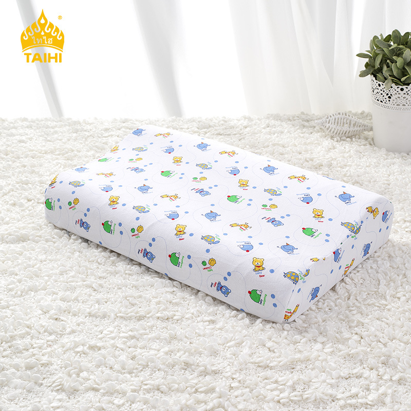 热销0件包邮泰妃尔厂家泰国大儿童学生枕头