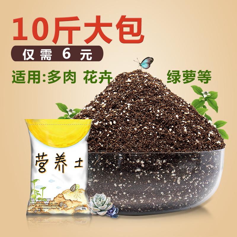 营养土花泥土壤种植土花土家用养花通用型多肉专用有机花肥营养液