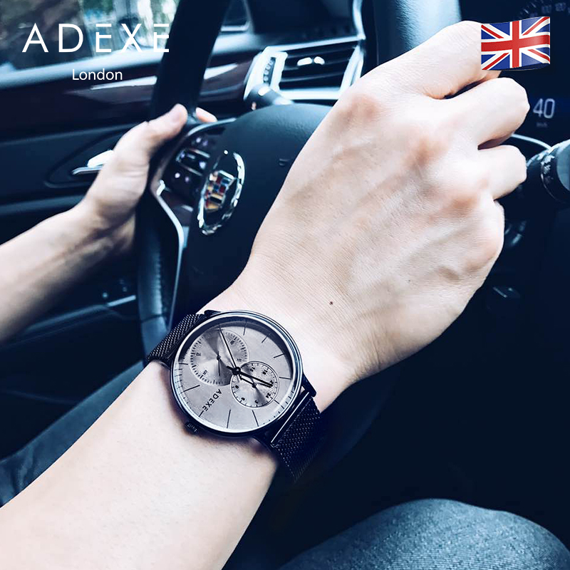ADEXE英国小众手表进口简约时尚天美时手表男腕表简约礼物DW手表