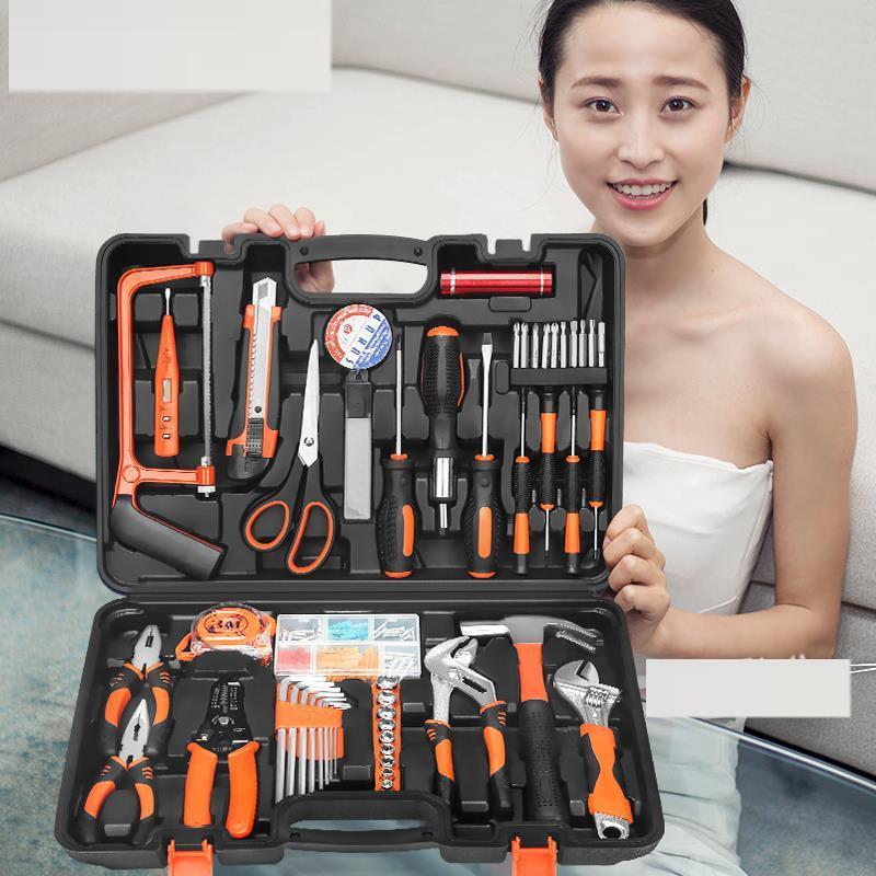 收纳盒客房辅助插电家电维修多功能电动螺丝刀套装理发店工厂长柄