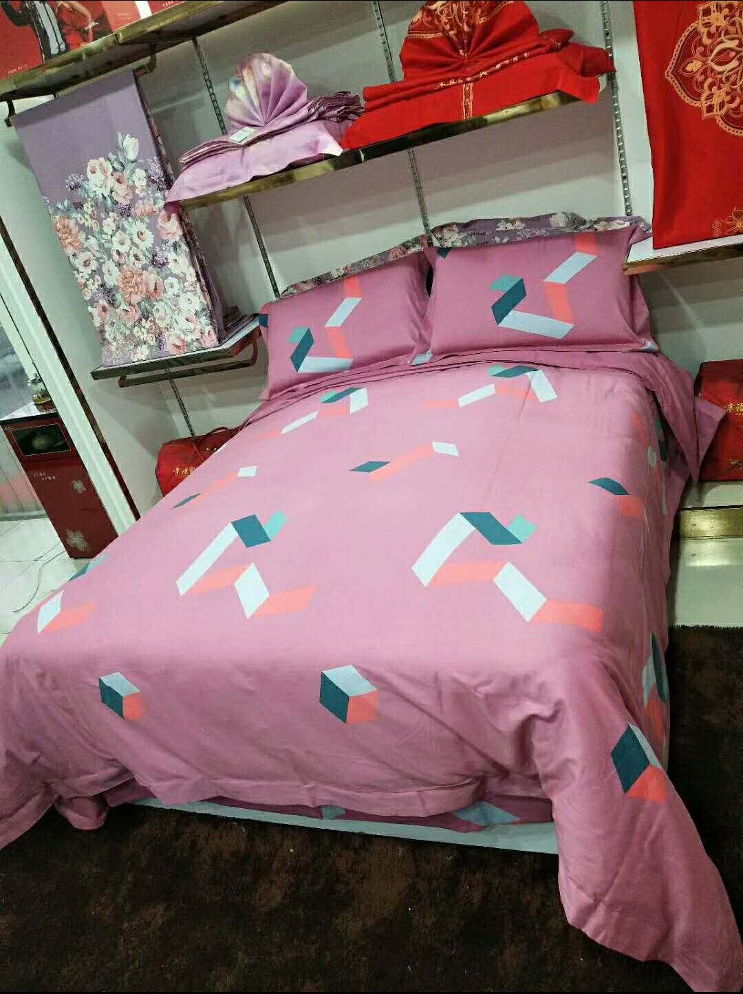 【私人订制】四件套纯棉全棉100%三件套床上用品床单纯棉