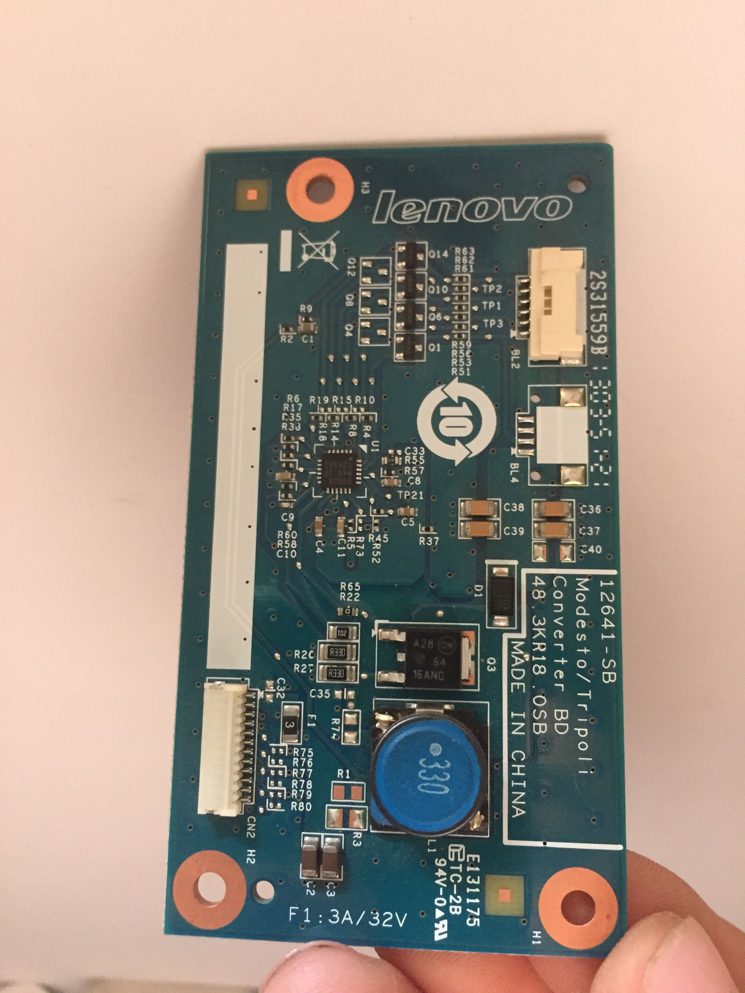 联想一体机s800 m8200z 6针高压板