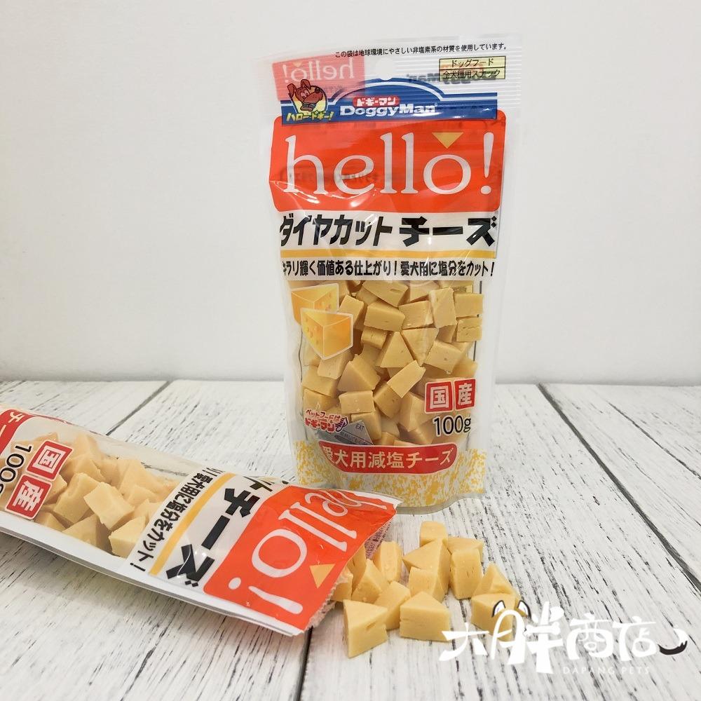 大胖商店 日本进口多格漫DoggyMan奶酪三角粒幼成犬零食补钙100g