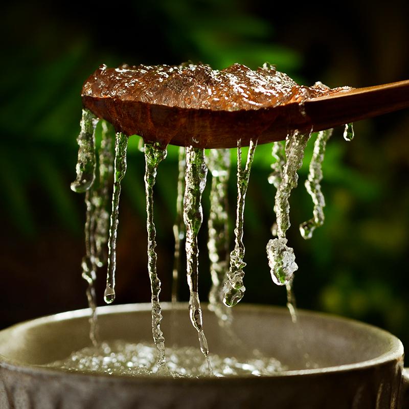 手工敲碎 方便泡发 天然拉丝雪燕 富含植物性胶原 植物燕窝55g/瓶