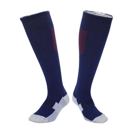 加厚毛巾底足球袜吸汗足球运动袜子