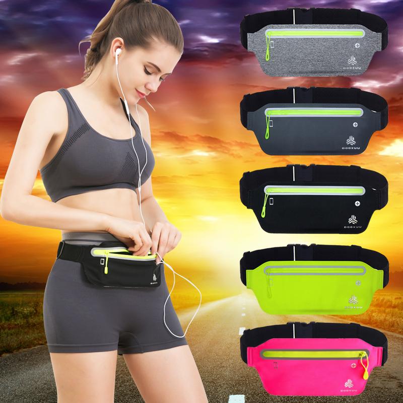 多功能运动腰包男女2018新款健身跑步手机腰带贴身休闲隐形户外包