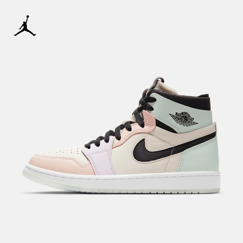 Jordan Official Nike Jordan AIR JORDAN 1 ZOOM AIR CMFT AJ1 Women's Sneakers