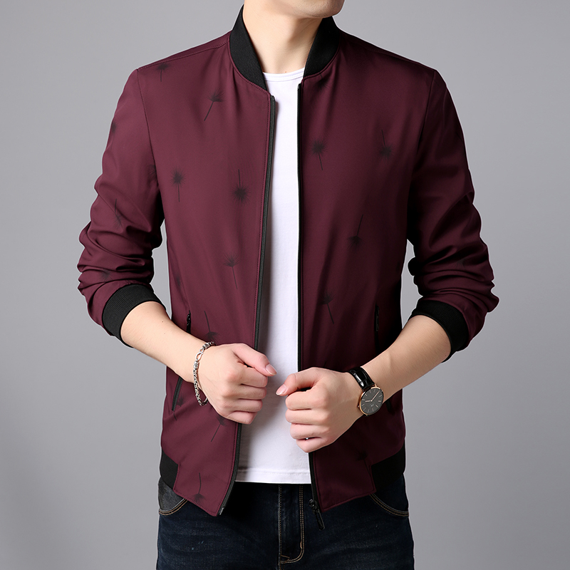Woodpecker 2021 autumn young mens stand collar low-cost running jacket with good quality and comfortable popular new coat
