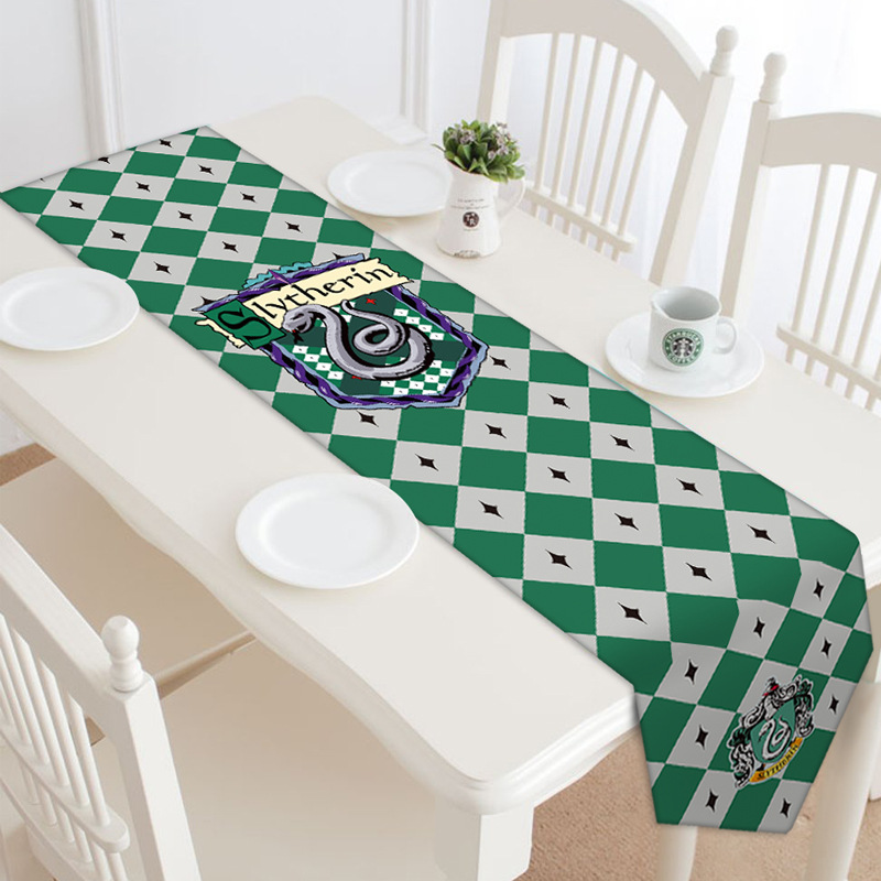Harry Potter power game peripheral double sided table flag bed flag European tablecloth cloth decoration flag customization