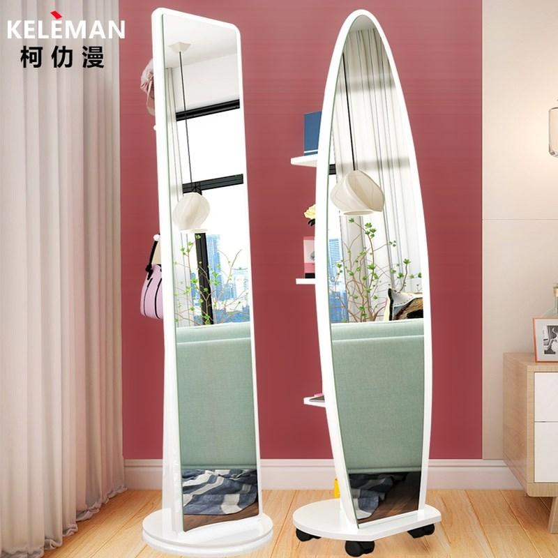 热销0件五折促销贴墙镜穿衣镜子全身免打孔拼接无框落地自粘组合客厅玻璃镜片定做