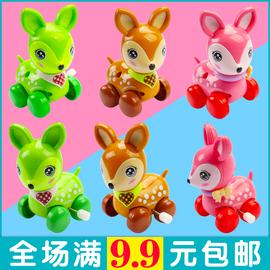 儿童发条上链梅花鹿玩具1-2-3-4-5岁男孩宝宝小鹿婴幼儿创意动物图片