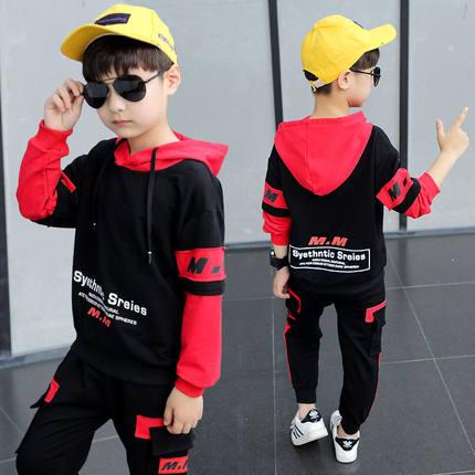 a3男童春季长袖套装两件套帅气童装